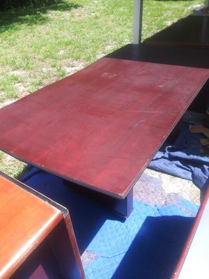 SOLID WOOD TABLE for Sale in Tampa, FL