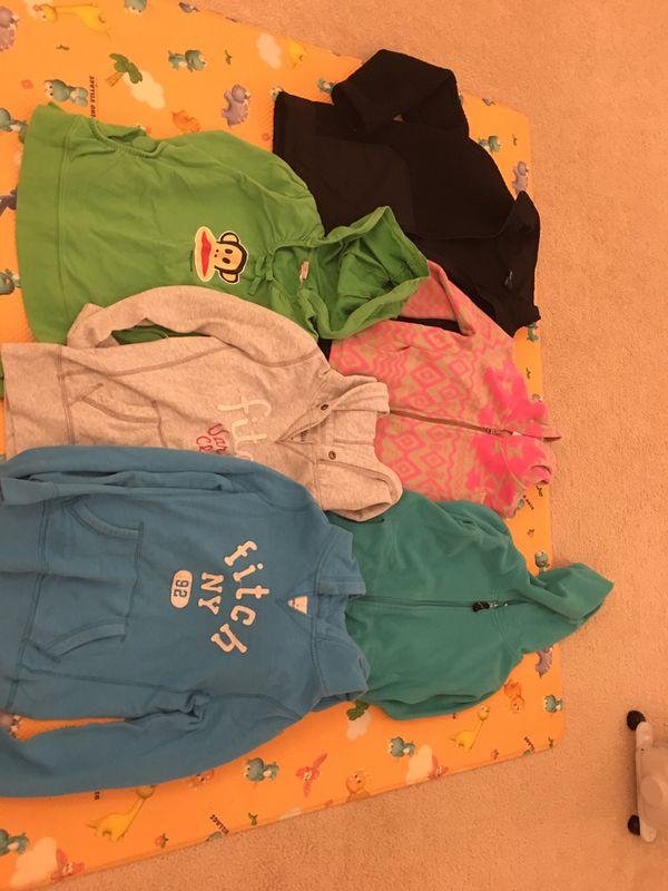 6-8 yrs old girls hoodie jackets