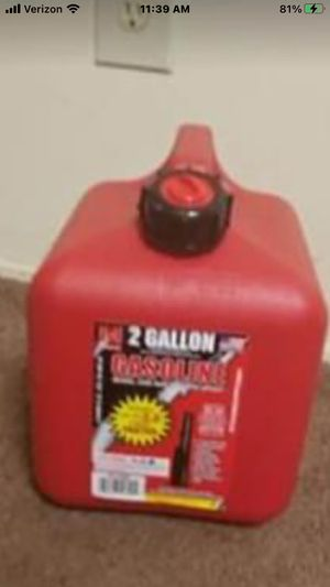 2 gallon gas tank for Sale in Ypsilanti, MI