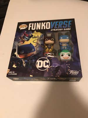 $25 dc Funko verse board game pls read below for Sale in Los Angeles, CA
