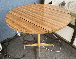 Small kitchen table $20 outdoor table with umbrella $40 for Sale in Spring Hill, FL