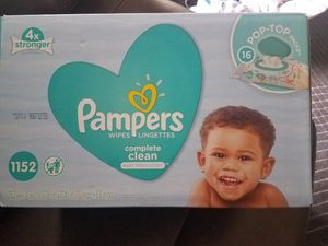 New box of Pampers Wipes for Sale in Tampa, FL