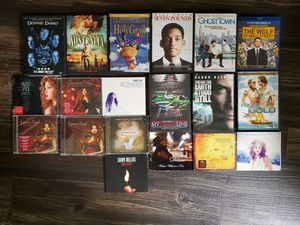 Bundle of CDs, DVD and Blu-ray for Sale in Murfreesboro, TN