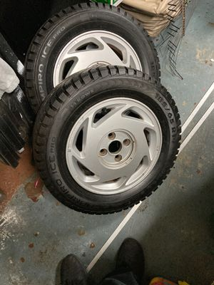 Honda/Acura Winter Wheels and Tires Studdable for Sale in Olympia, WA