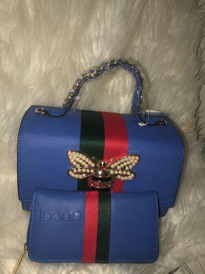 Blue Gucci w wallet for Sale in Atlanta, GA