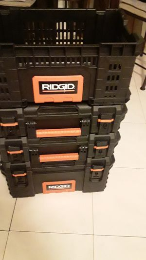 4 set of Rigid toolbox in perfect for Sale in Hollywood, FL