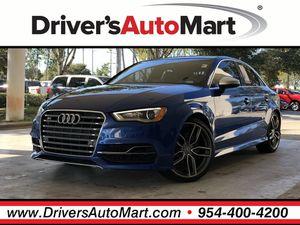 2016 Audi S3 for Sale in Davie, FL