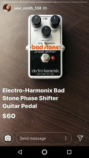 Bad stone phase shifter guitar pedal for Sale in Lynchburg, VA