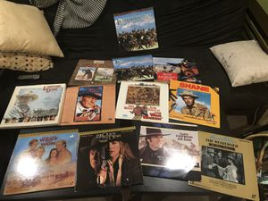 LaserDisc Movies classic Western Collection for Sale in Portland, OR
