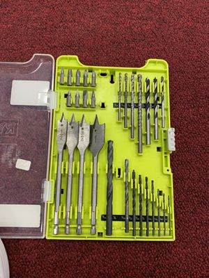 Ryobi Drilling and Driving Kit for Sale in Seymour, CT