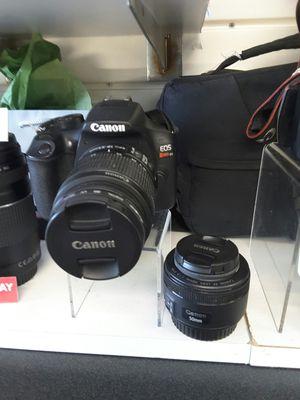 Canon digital camera M/eosrebelt6 for Sale in Miami, FL