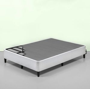 New 14 inch smart box spring or modern platform bed frame king size for Sale in Columbus, OH