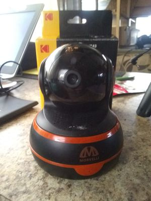 Wifi morvelli security cam or baby monitor for Sale in Hawkins, TX