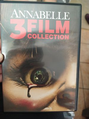 Annabelle 3 film collection. for Sale in Santa Maria, CA