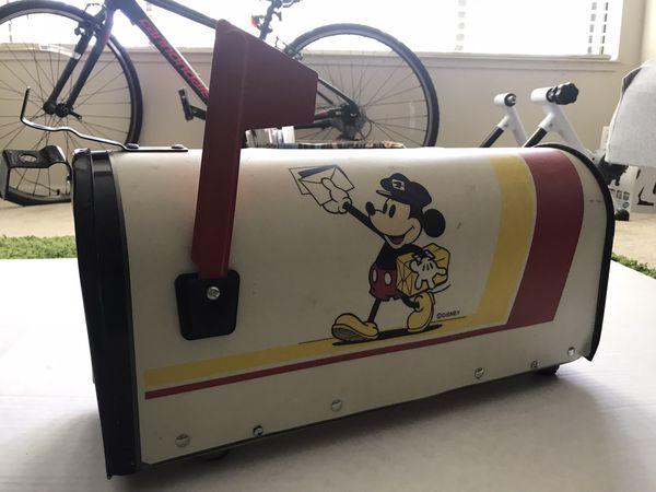 Vintage Disney Mickey Mouse Mailbox