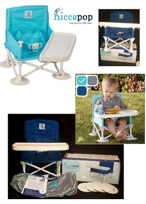 Booster Seat w/Tray - Folding Portable Travel High Chair for Sale in Glendale, CA