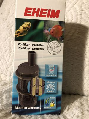 EHEIM- Prefilter for External Canister and Powerhead - Brand new, in box! Retails $16, asking $6 for Sale in Marlborough, MA