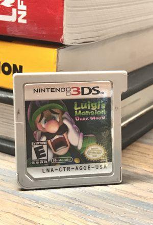 Luigi's Mansion 3DS for Sale in San Diego, CA