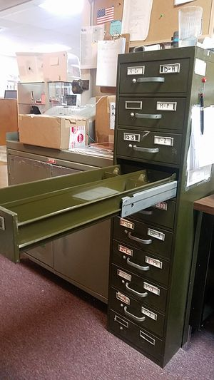 Rolodex / index card file cabinet Steel for Sale in Auburn, WA