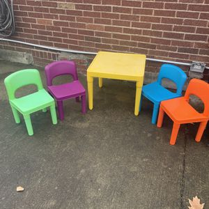 Colorful Kids Table & Chairs for Sale in Pittsburgh, PA