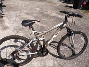 """Mongoose Ledge Full Suspension bike with 26"""" tires, 17"""" frame - $70 FIRM. for Sale in Wesley Chapel, FL"""