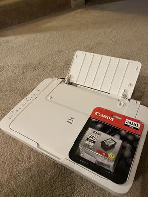 Canon Printer with ink for Sale in Norfolk, VA