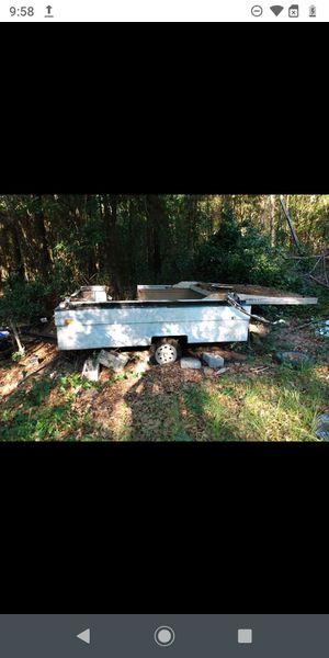 Pop up camper turn into a trailer for Sale in Interlachen, FL