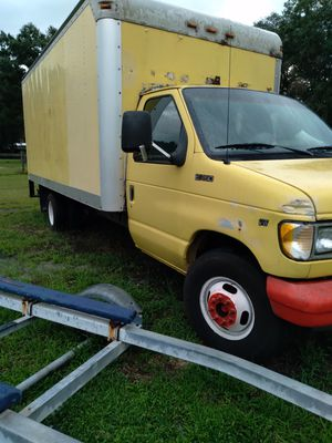1998 ford f350 box van for Sale in Plant City, FL