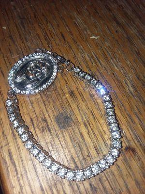 Cubic zirconia catholic bracelet for Sale in Saint Joseph, MO