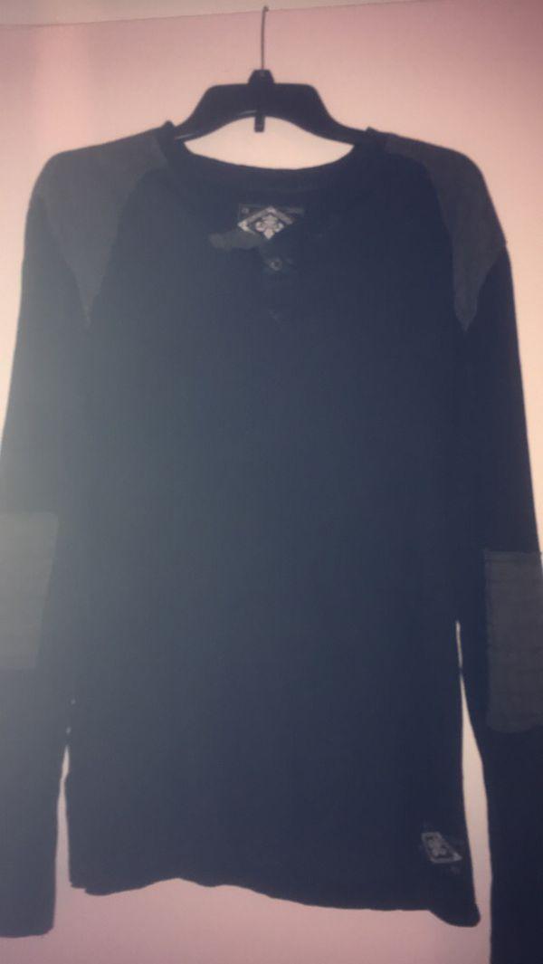 BNWT Men's AFFLICTION long sleeve shirt size Large