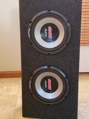 Pioneer subwoofers for Sale in Columbus, OH