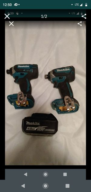 Makita impacts for Sale in Kansas City, MO