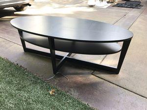 Black Ikea coffee table for Sale in Mercer Island, WA