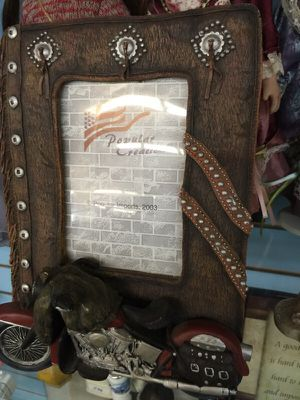 Motorcycle picture frame for Sale in Manassas, VA