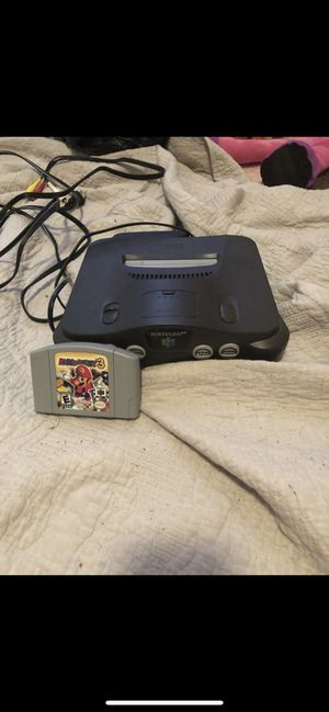 Nintendo 64 with Mario party 3 for Sale in Burleson, TX