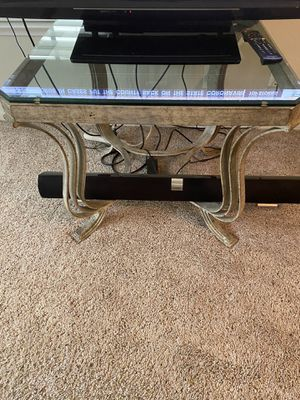 Bassett glass coffee table and end table. for Sale in Pacifica, CA