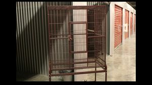 Burgundy Large Flight cage (bird cage) for Sale in Hollywood, FL