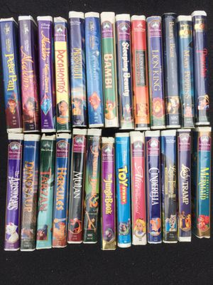 Lot of 26 Disney VHS videos for Sale in Yonkers, NY