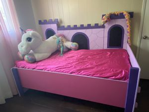Princess 👑 Twin Bed for Sale in Fresno, CA