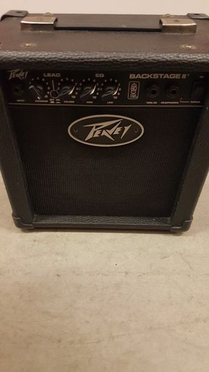 Peavy guitar amp 6in speaker backstage 2 for Sale in Garden Grove, CA