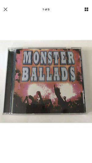 Monster Ballads CD various artists for Sale in Land O' Lakes, FL