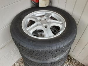 4 Tires like new , with rims 5 lugs for Sale in Fort Myers Beach, FL