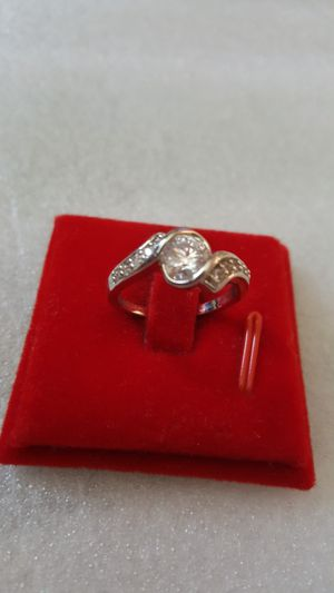 18k white gold filled ring size 7 for Sale in Staten Island, NY