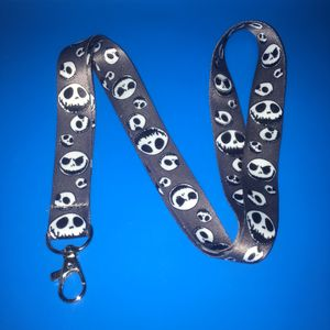 Nightmare Before Christmas Grey Jack Face Lanyard L85 for Sale in San Diego, CA