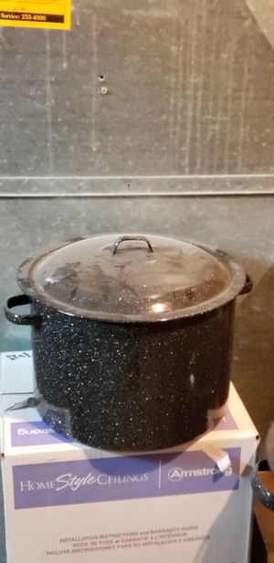 Stock pots and canning stuff for Sale in Taylorsville, UT