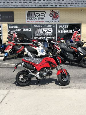 2019 Hellcat 125cc With clutch - RB Scooters for Sale in Pompano Beach, FL