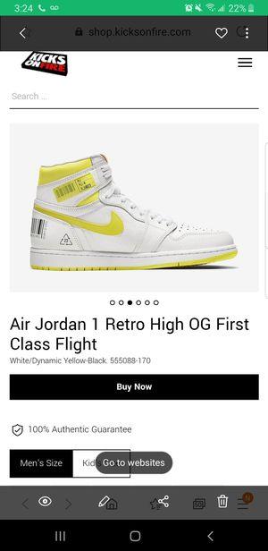Retro Jordan 1 size 6.5 Brand new for Sale in The Bronx, NY