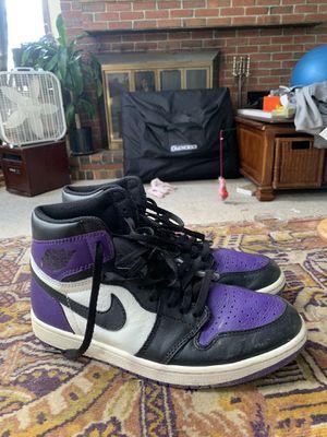 Jordan 1 Court Purple for Sale in Brunswick, ME