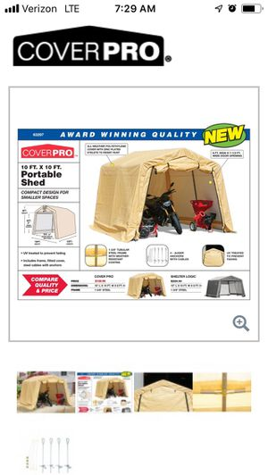 10x10 Portable Shed for Sale in Westlake, OH