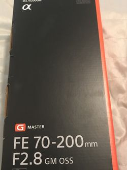 "Sony G Master FE 70-200 mm F2.8 GM ""Brand new in box"" for Sale in Miami,  FL"
